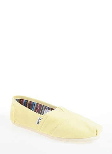 Toms Yellow Wm Alprg Clsc Sarı